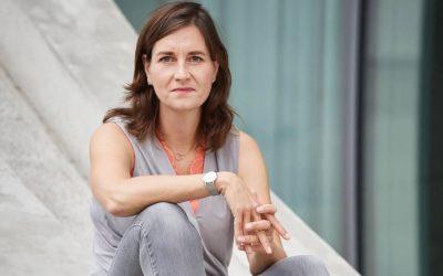 Ulrike Nagel is de moderator van het Duits-Nederlands Waterstofsymposium