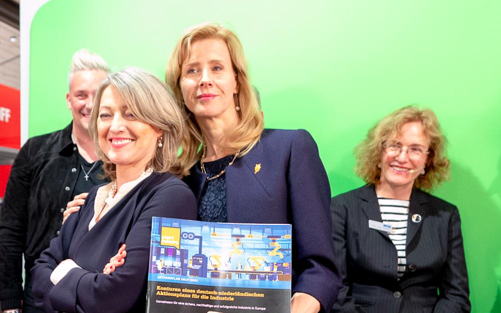 Sinds 2014 betrokken bij de Nederlandse inbreng op de Hannover Messe